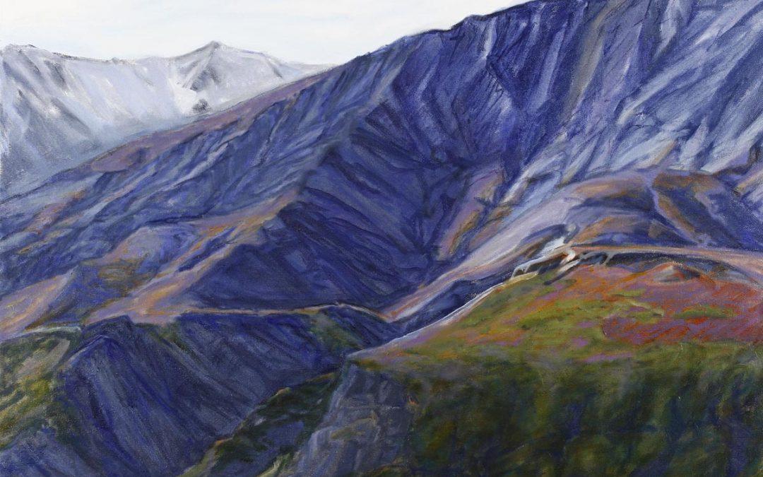 Above Tree Line Alaska Range