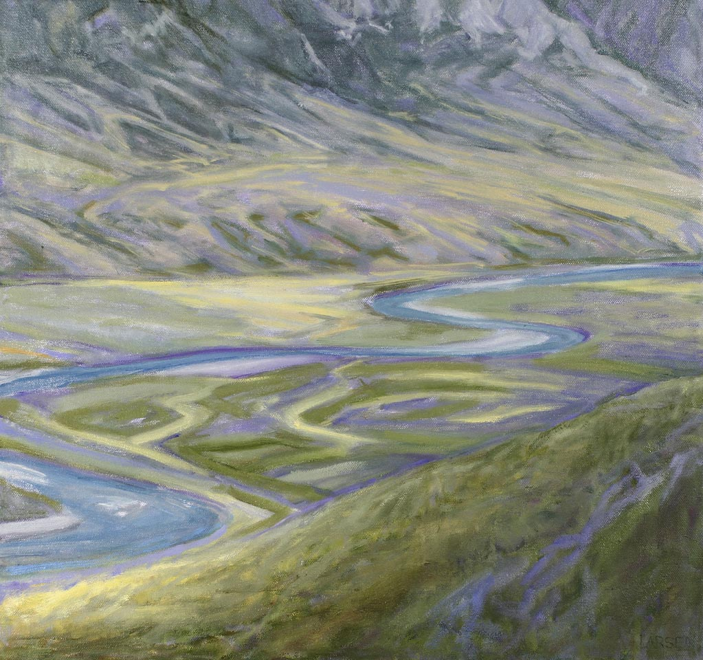 Arctic Swirls -Noatak 20x19
