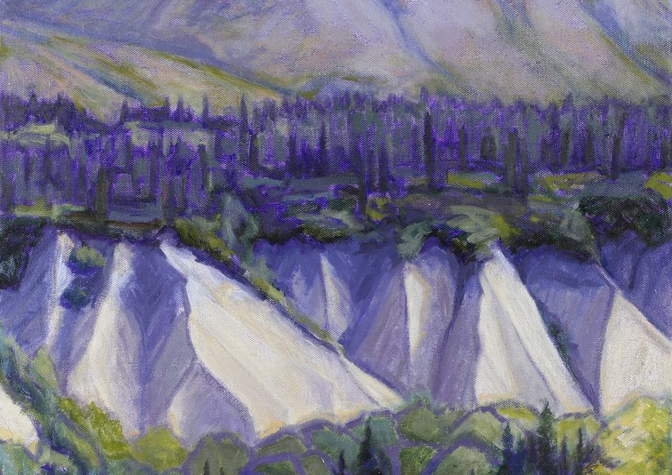 Layers – Alaska Range