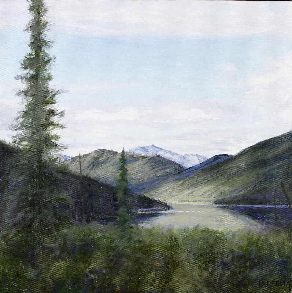 Looking North - Wild Lake 10x10