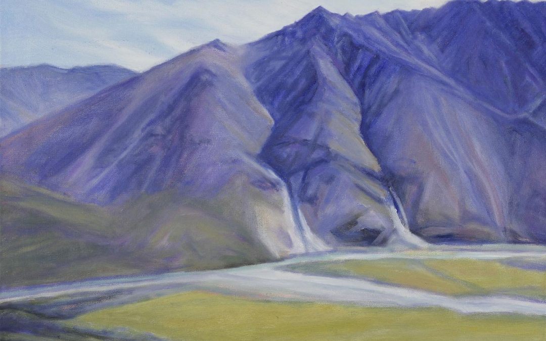 Mountains by the Marsh Fork