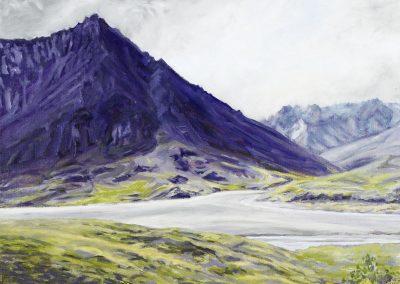 Purple Mountain with Lemon and Lime