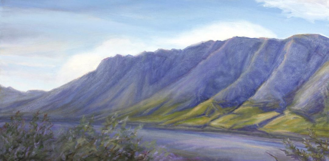 Ridge with Ravines 36x18