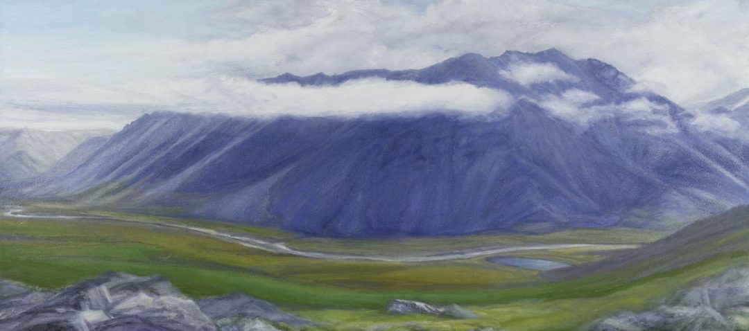 Sadlerochit River Valley 40x18