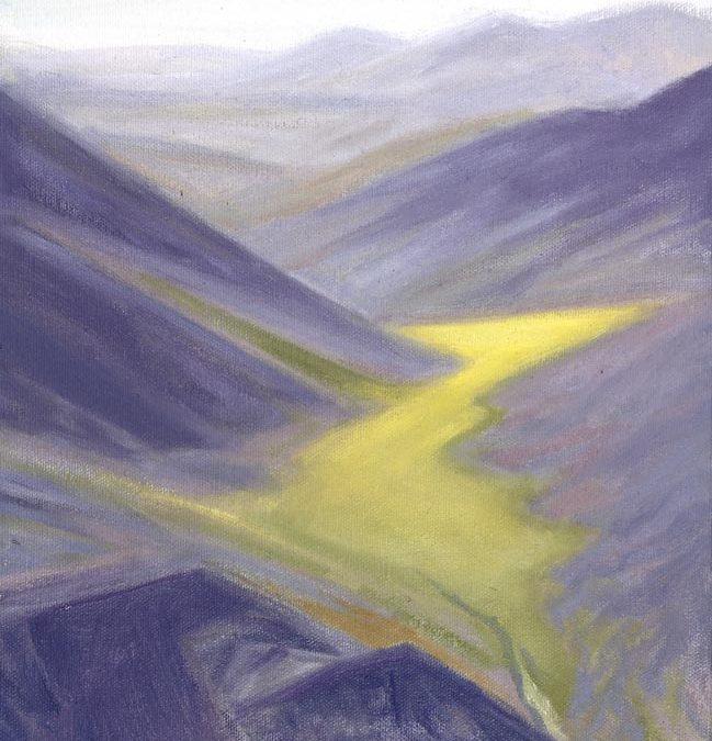 Valley Pass – Near Nigu